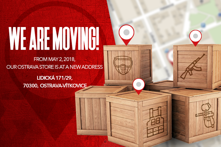 We are moving -  store OSTRAVA