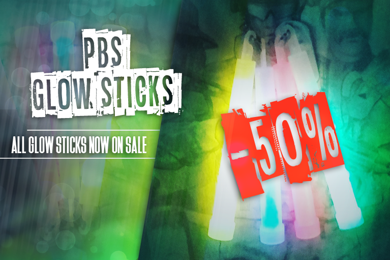 Lightsticks 50% sale!