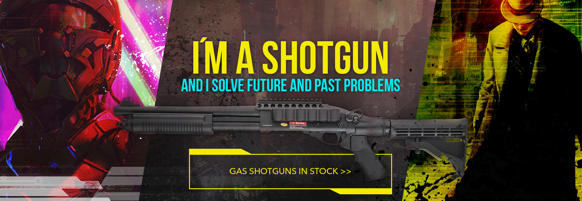 Shotgun from Golden Eagle is back in stock