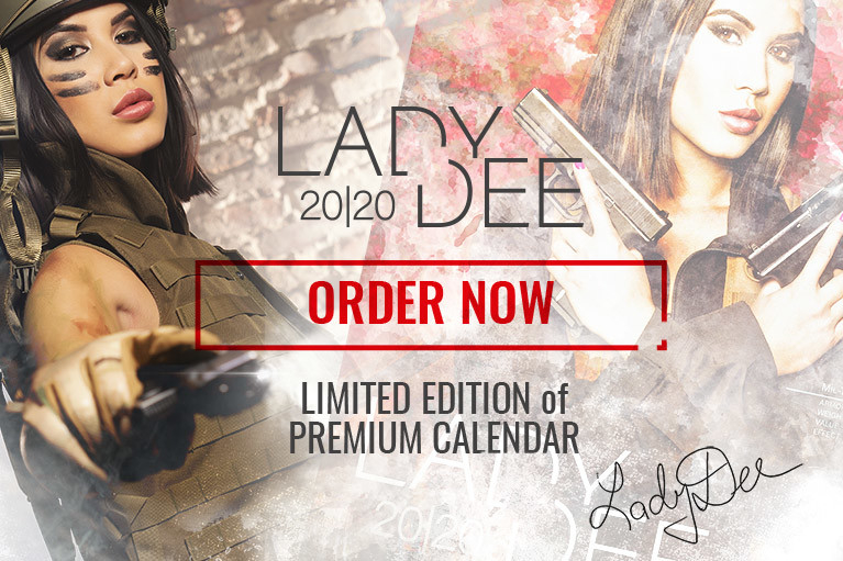 Calendar Lady Dee 2020 - Limited pieces only!