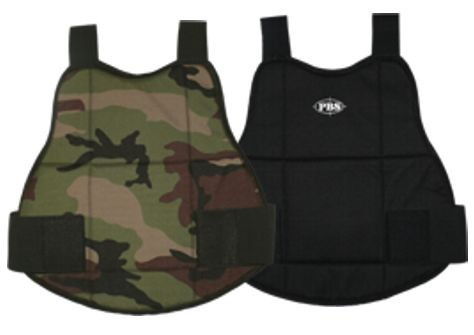 PBS Chest Protector L (Woodland/Black)