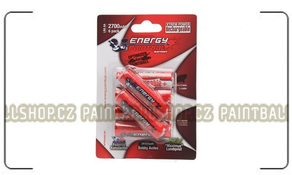 Xtreme Power LR6/AA 2700mAh Rechargeable Battery 6 pack