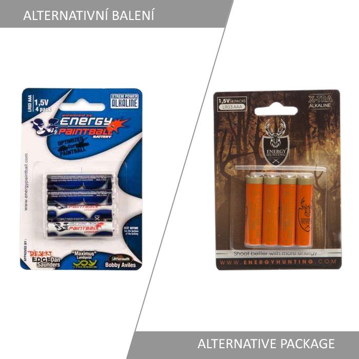 Xtreme Power LR03/AAA Alkaline Battery 4 Pack