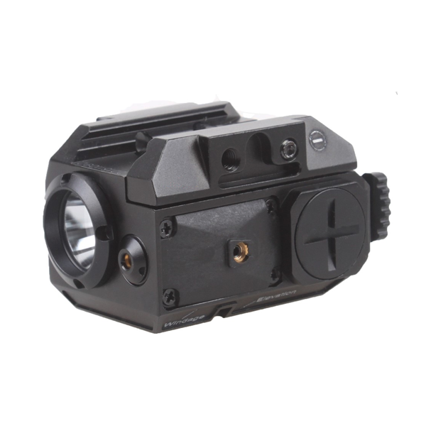 Svítilna Vector Blackout, Cree-LED/green laser
