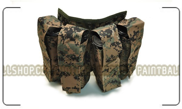 4 Pod Pouch for Vest digital camo - výprodej