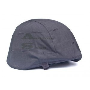 Military Helmet Cover with Cat Eye black