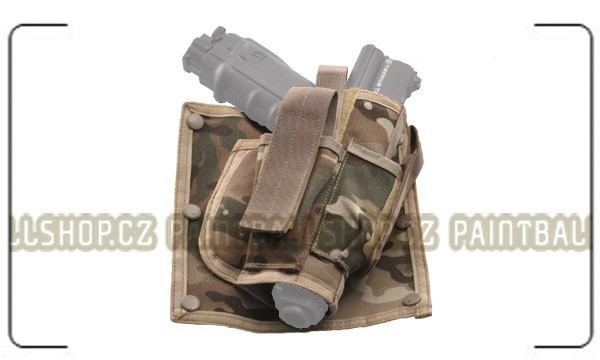 Pistol Holster for Vest Multi Camo
