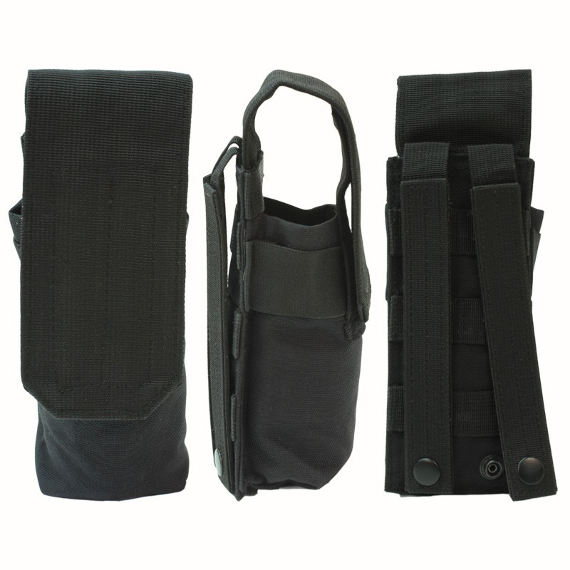 Molle Pouch Double Mag/100 Pod black