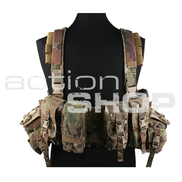 Chest Rig typu LBT - multicam