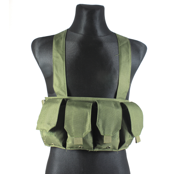 GFC MOLLE Vesta typ Chest rig M4 - Oliva