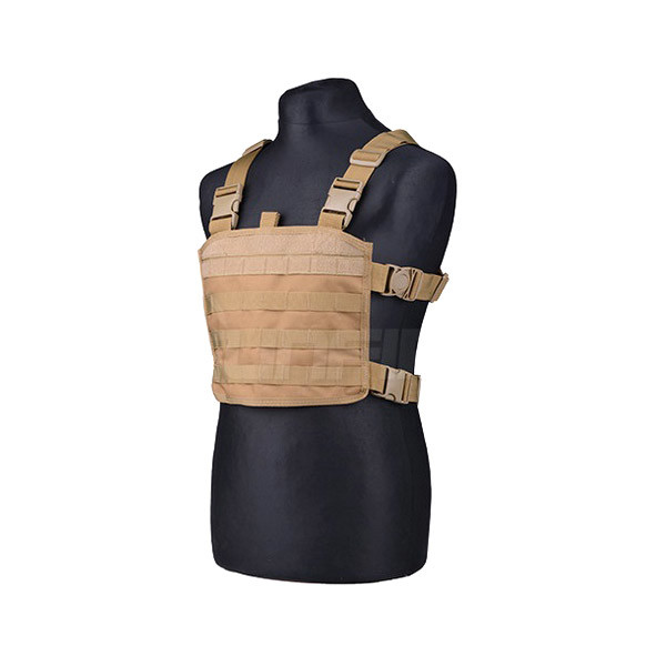 "GFC Chest Rig Molle ""mini"", tan"