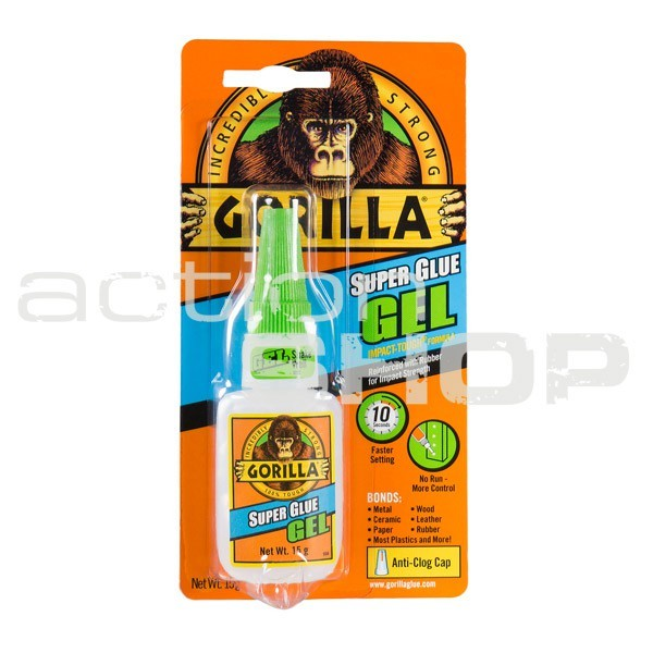 Gorilla Super Glue GEL 15g lepidlo