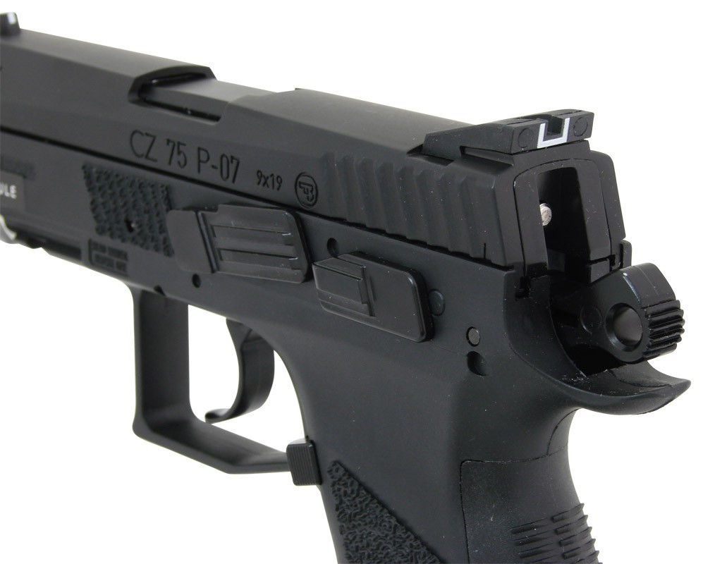 CZ P-07 Duty CO2 Blow-back