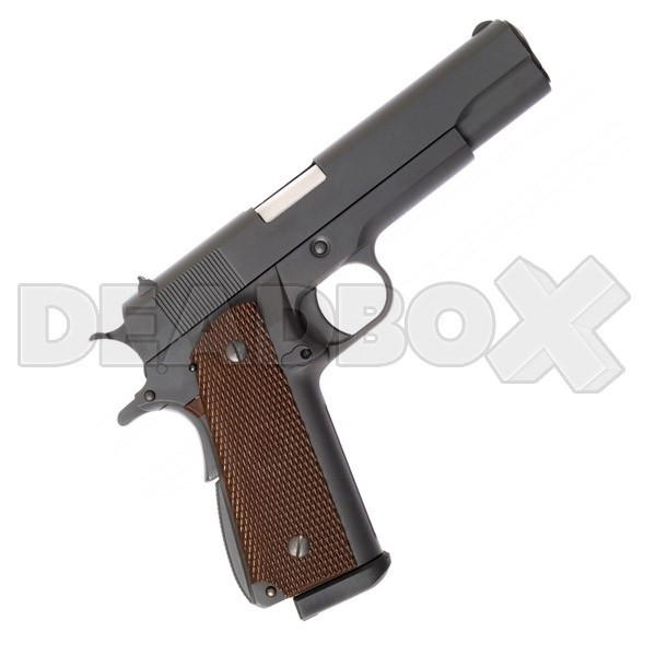 WE M1911 custom celokov CO2