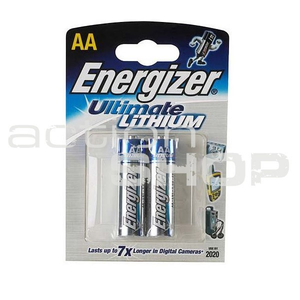 Baterie Energizer Lithium Ultimate LR6/AA (2ks)