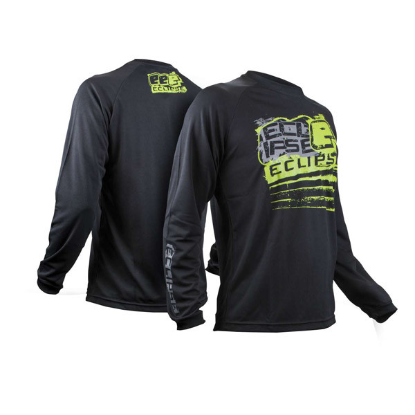 Eclipse Mens Brawler Long Sleeve T-Shirt Black