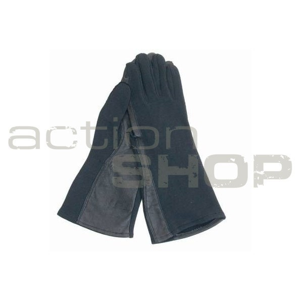 Mil-Tec US Pilot Nomex Gloves Black
