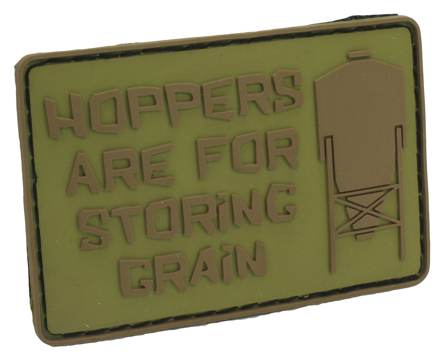Patch Hoppers Are For Storing Grain (Tan)
