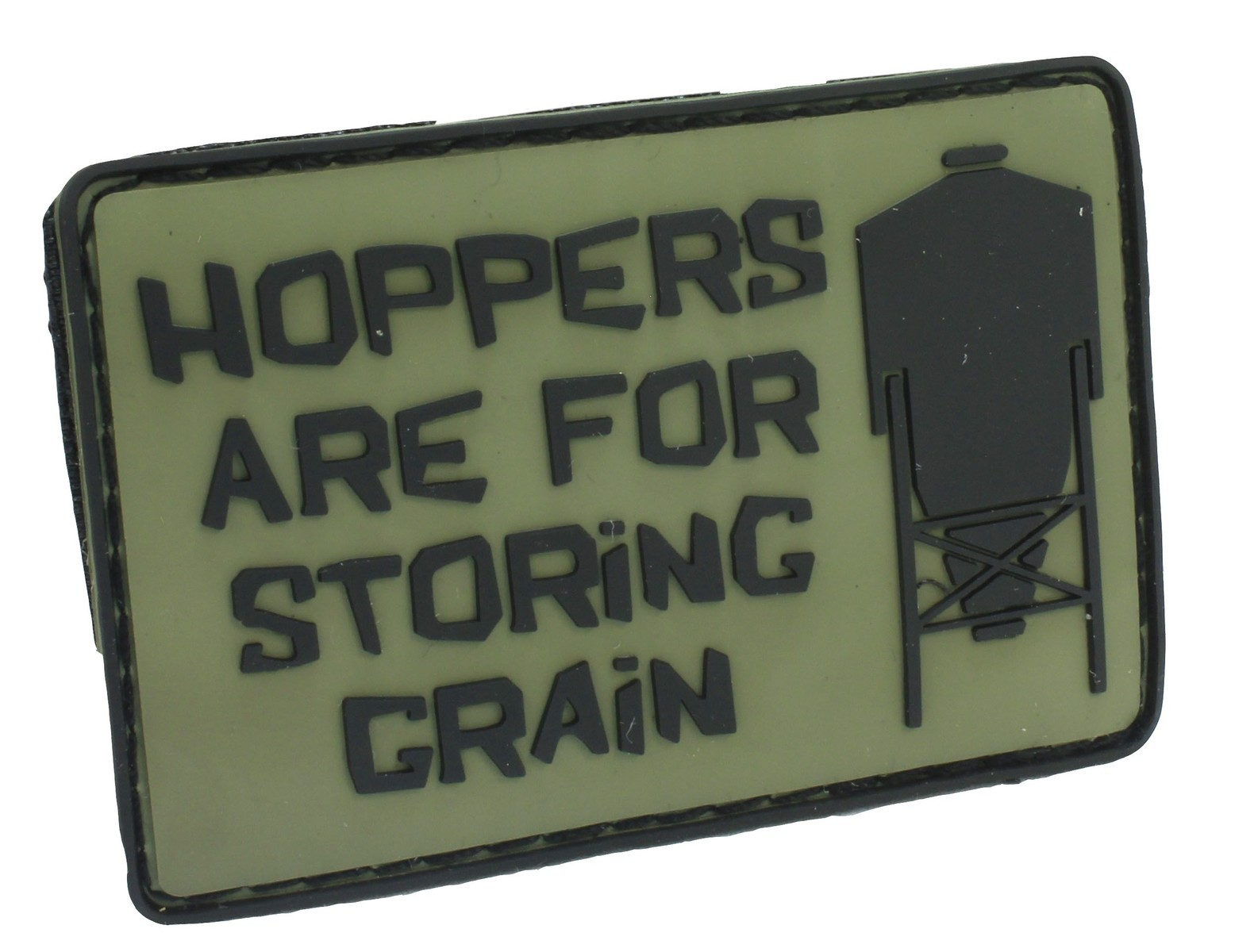 Patch Hoppers Are For Storing Grain (Green)
