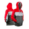 Eclipse Mens Track Zip Hoody Red
