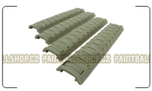 Rail Covers (Plastic) DE