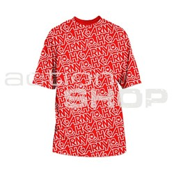 HK Army All Over T-Shirt Red/White L