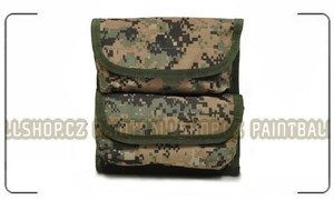 Utility Pouch for Vest digital camo - výprodej