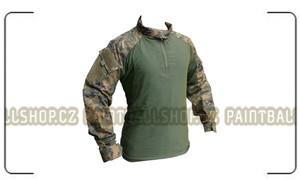 PBS Combat Cool Shirt L (Digital Woodland)