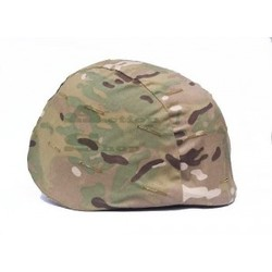 Military Helmet Cover With Cat Eyes Multi Camo