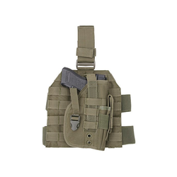 Leg Panel with universal leg holster - olive