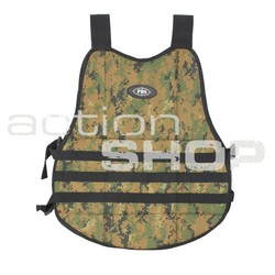 Molle Chest Protector Digital Camo