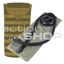 Mil-Tec MOLLE Water Pack 3,0L coyote