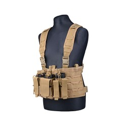"GFC Chest Rig Molle ""scout"", tan"