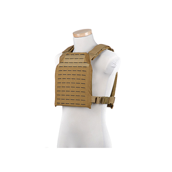 GFC Vesta typu Laser Cut Plate Carrier, tan