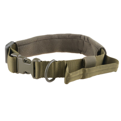 Tactical dog neck collar, olive