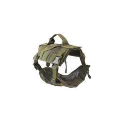 Tactical Dog Harness, Olive Drab