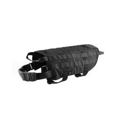 Tactical harness for dog, size M, black
