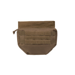 Drop Down Pouch, dark coyote