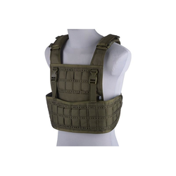 Vest tactical type Laser cut, olive
