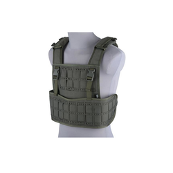 Vest tactical type Laser cut, ranger green