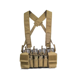 PMC Micro B Chest Rig - Tan