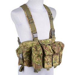 Chest Rig typu Commando, pencott