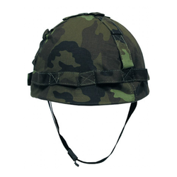 US Plastic Helmet, with cloth cover, vz.95