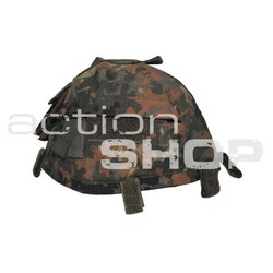 MFH Helmet Cover with Pocket, flecktarn