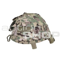 MFH Helmet Cover with Pocket, operation camo