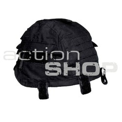 MFH Helmet Cover with Pocket Black