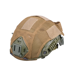 Helmet cover type FAST, tan