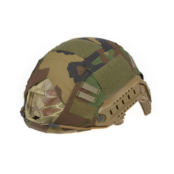 Helmet cover for FAST PJ, woodland