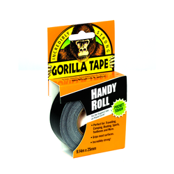 Gorilla Tape Handy Roll Black 25mm x 9,14m