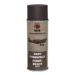 Spray paint ARMY, 400ml, brown